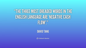 The three most dreaded words in the English language are 'negative ...