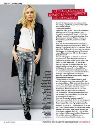Diane Kruger Grazia France...