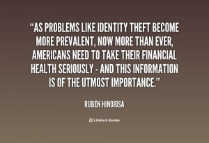 Identity Theft Quotes And Sayings