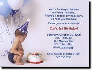 1st Birthday Party Invitation Templates Birthday party invitations