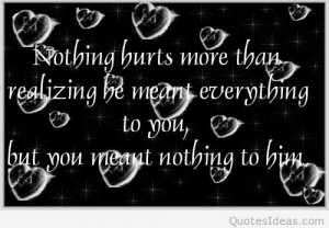 Heartbroken quotes sayings on pictures and images
