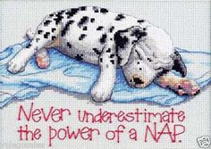 art crafts, dalmatian, crossstitch, power nap, crosses, count cross ...
