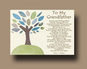 Loss Of Grandfather Quotes Grandfather gift