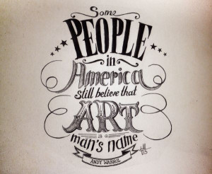 QUOTES - Hand Lettering by Valentina Morianz, via Behance