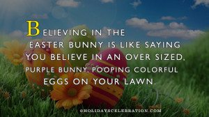 Easter Bunny Quotes Card