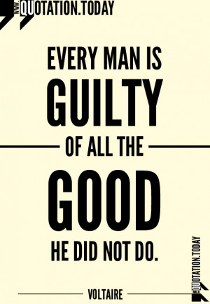 Quotations | Voltaire | Quotes on Good