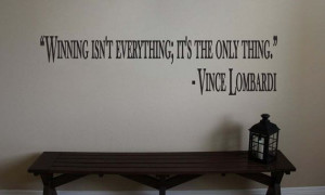 Football Quotes Vince Lombardi Vince lombardi inspirational football ...