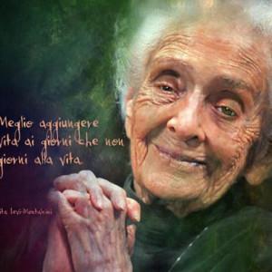morta Rita Levi Montalcini aveva 103 anni - Rita Levi Montalcini ...