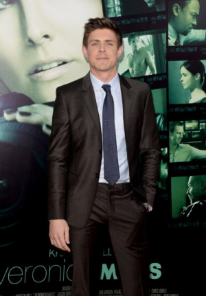 Chris Lowell at event of Veronica Mars (2014)