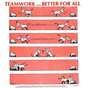 Team Work…