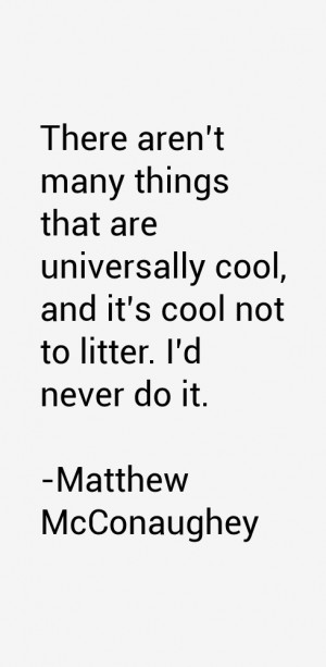 There aren't many things that are universally cool, and it's cool not ...