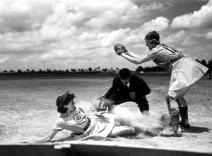 All American Girls Professional Baseball League player Marg Callaghan ...