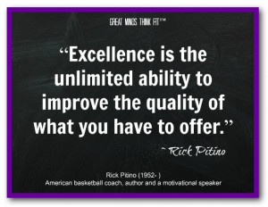 Excellence Quotes...