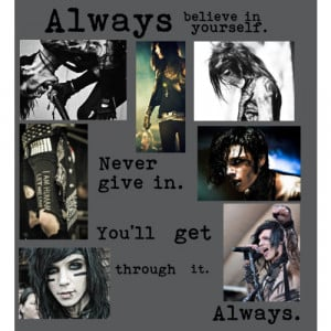 Andy Biersack quote - Polyvore