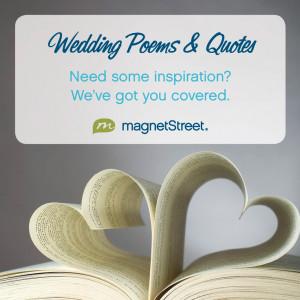 Wedding Poems Quotes