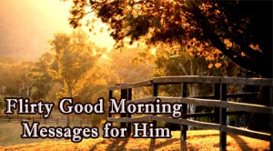 the flirty good morning wishes for him wish him for a better morning ...