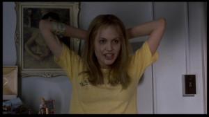 Angelina Jolie Angelina Jolie as Lisa Rowe in 'Girl, Interrupted'