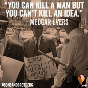 Medgar Evers assassinated on this day June 12, 1963