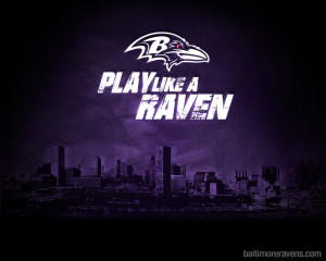 Baltimore Ravens Play Like a Raven