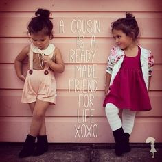 Cute sayings for cousins