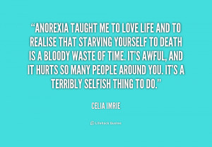 Information about Anorexia Quotes and everything about Anorexia Quotes ...