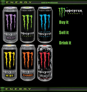 monster energy drink monster energy drink monster energy drink by of ...
