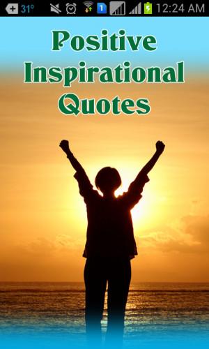 Positive Inspirational Quotes 1.0 screenshot 0