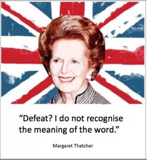 RIP Margaret Thatcher: 5 Famous Quotes