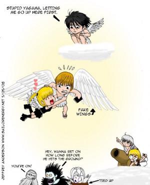 Random Funny Death Note Comic