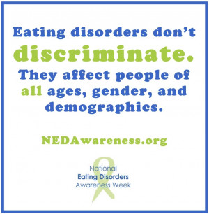 NEDA color quotes Eating Disorder Recovery Quotes