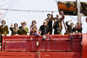 ... Seymour Hoffman and Rhys Darby in Focus Features' Pirate Radio (2009