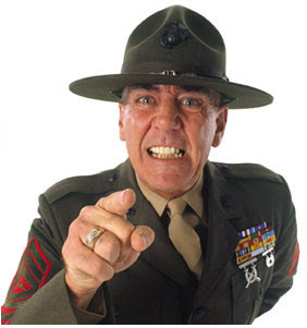 ... Marines was my tour as a Drill Instructor. Yes, Full Metal Jacket