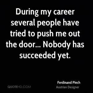Ferdinand Piech Quotes