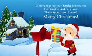 Christmas santa claus quotes sayings wish picture