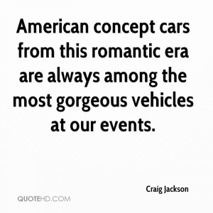 American concept cars from this romantic era are always among the most ...