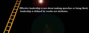 Facebook Cover Photo For Leadership with Quotes