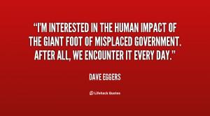 Human Impact Quotes