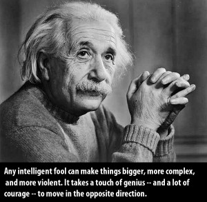 selection of the most famous quotes by Albert Einstein.
