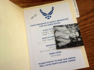 Airforce Going Away Party, Airforce Party Ideas, Air Force Go Away ...