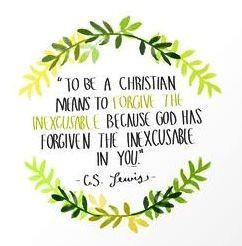 Forgiveness - C.S. Lewis