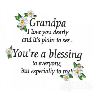 love you grandpa i love you grandpa