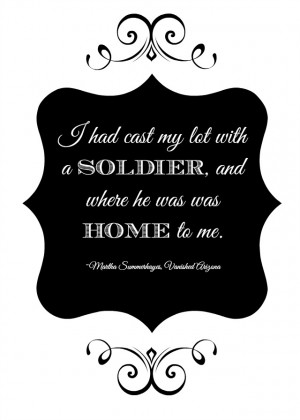 Soldier Quotes A soldier printable quote