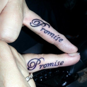 Pinky Promise for Friends