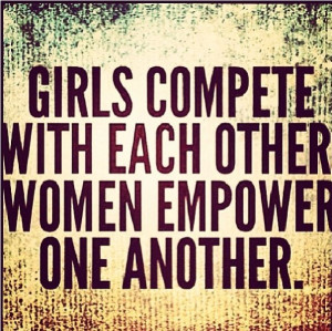 We must empower each other.