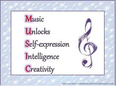 ... inspiring quotes about music! A great asset to a music classroom