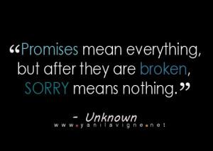 broken promise quotes broken promise quotes broken promise quotes ...