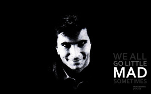 Quotes Psycho Wallpaper 1920x1200 Quotes, Psycho, Grayscale, Alfred ...