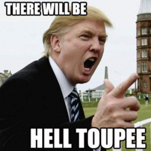 Donald Trump yearbook   Donald Trump: There Will be Hell Toupee ...