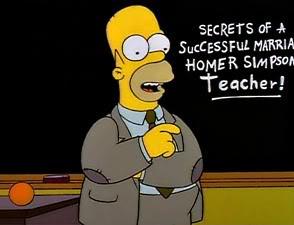 Los Simpson Temporada 5 Capítulo 22 - Secretos De Un Buen Matrimonio ...