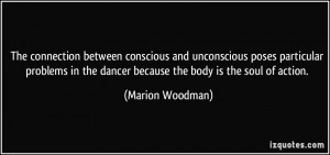 connection between conscious and unconscious poses particular problems ...